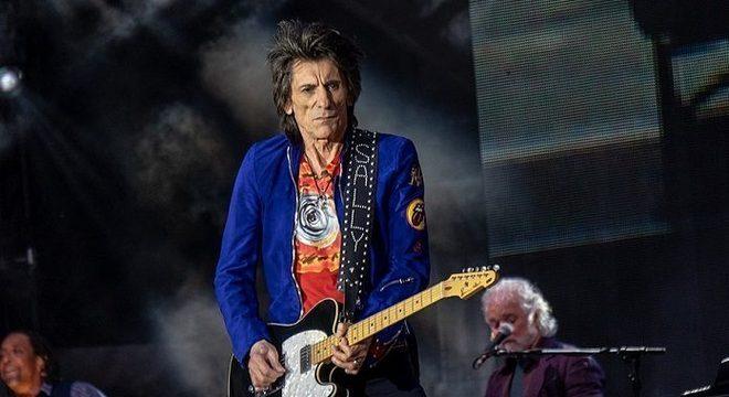 """Tá errado? Ronnie Wood diz que Rolling Stones são """"indestrutíveis"""""""