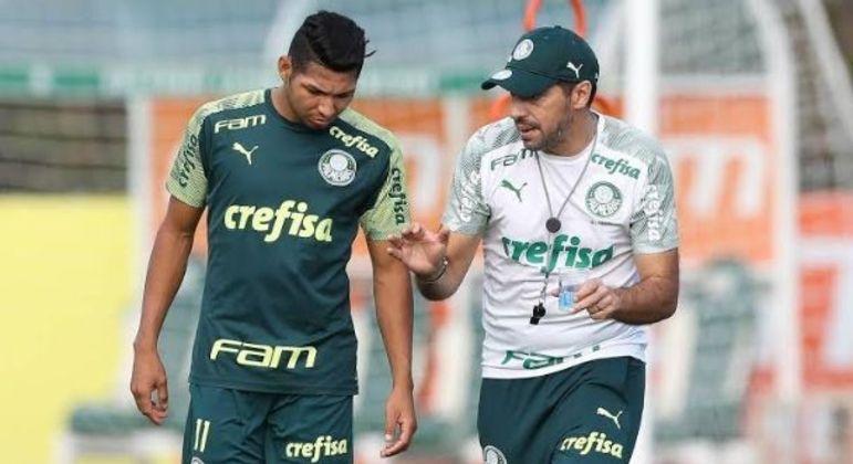 Rony e Abel Ferreira. A diferença de estar sob o comando de um treinador moderno
