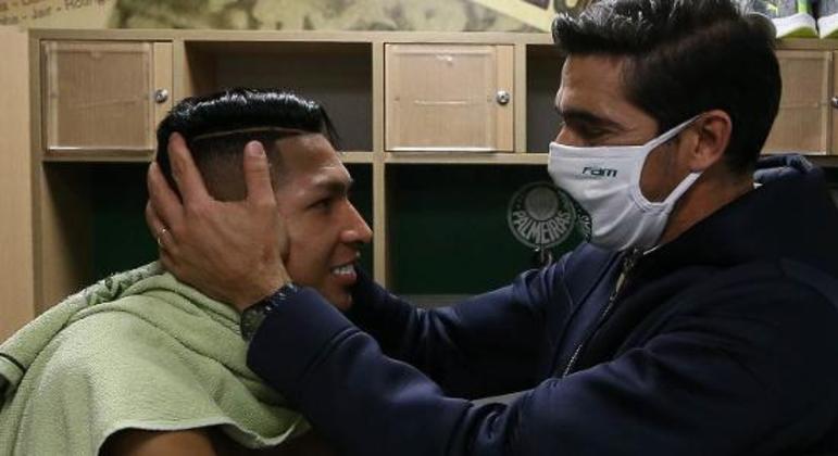 Rony é uma das armas guardadas por Abel para a decisão do Paulista, que já foi Paulistinha
