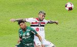 Rony, Liziero, São Paulo x Palmeiras, Paulistão 2021,