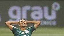 Com dores, Rony é desfalque do Palmeiras contra o São Paulo