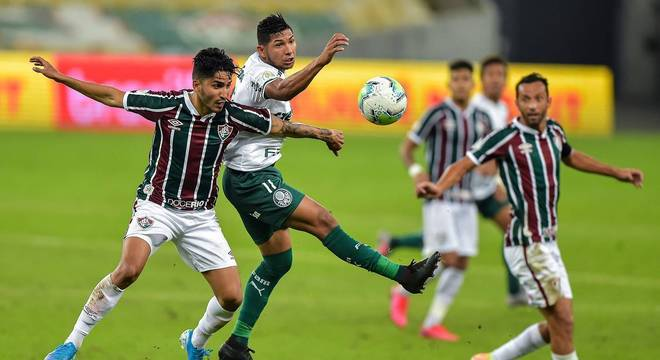 Palmeiras e Fluminense fizeram jogo de poucas chances