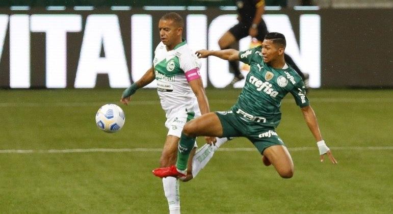 Rony bem que tentou, mas não conseguiu dar a vitória ao Palmeiras