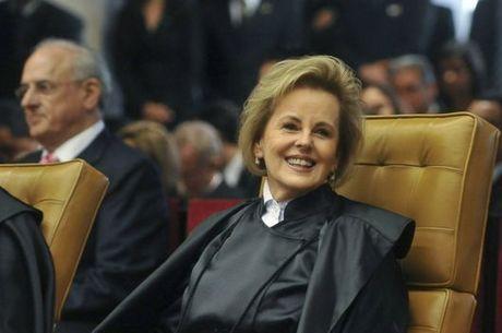 Rosa Weber no dia da sua posse no Supremo