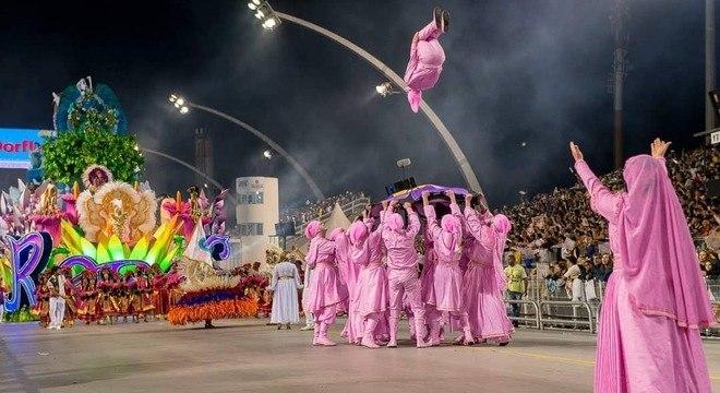 A Rosas de Ouro ficou em 3º lugar no Carnaval 2019