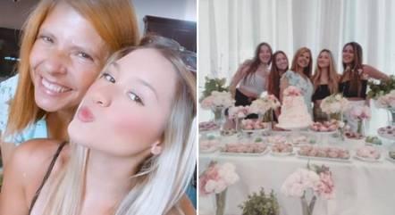 Filhas de Gugu Liberato celebram aniversário da mãe