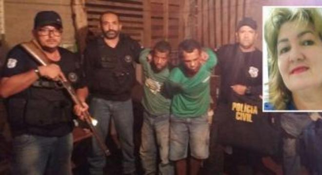 rosineide 347 presos ex-namorado
