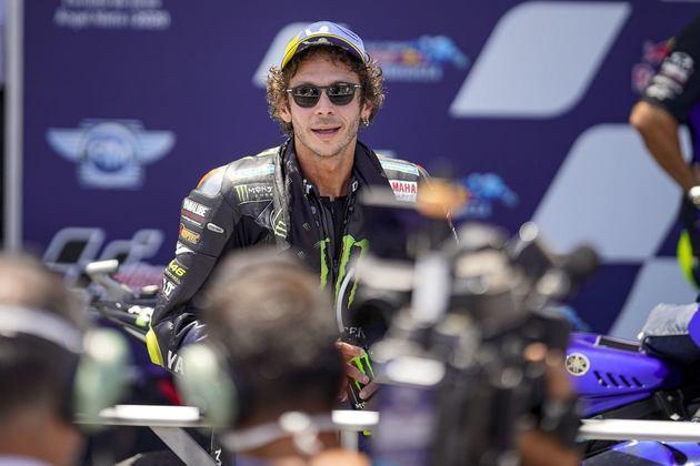 Rossi alcançou seu 199º pódio na MotoGP