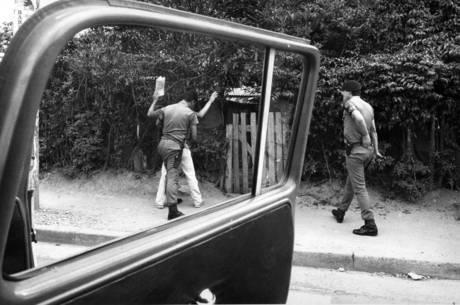 Ação de policiais da Rota, em  São Paulo