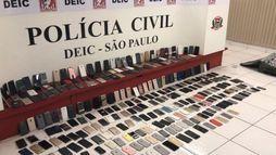 Pinheiros registra mais da metade dos roubos e furtos de celulares em São Paulo (Divulgação/Deic)
