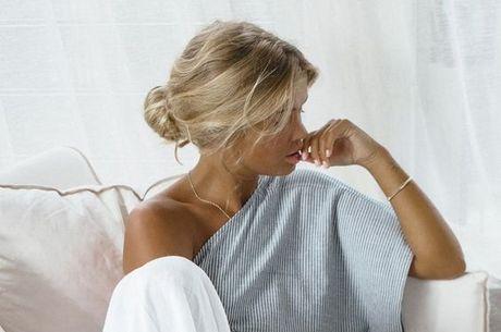Escolha roupa confortável, mas não fique de pijama