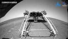 Explorador chinês começa a percorrer Marte