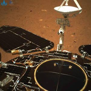 Rover chinês manda primeiras fotos