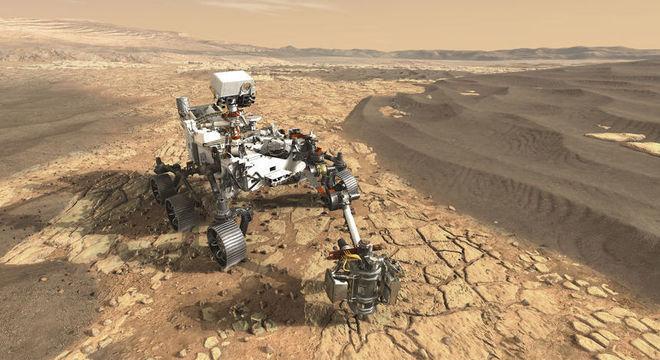 Perseverance deve chegar a Marte em fevereiro de 2021