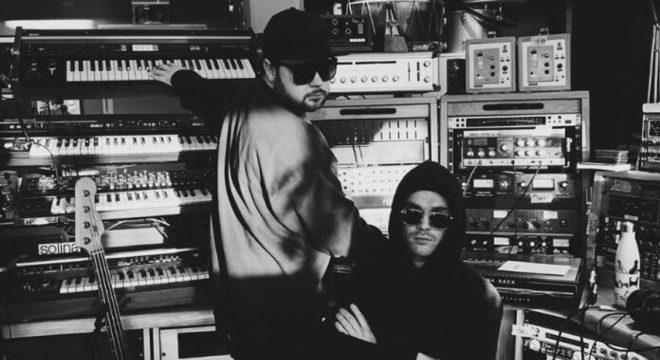 Royal Blood em estúdio
