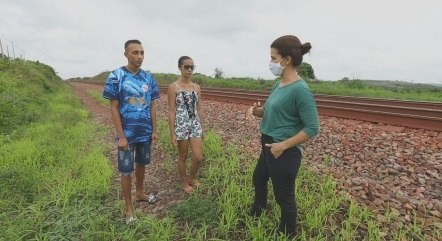 Reportagem mostra o drama de quem vive às margens da Estrada de Ferro Carajás