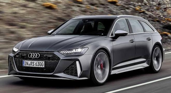 Audi RS6 apresenta visual elegante e esportivo