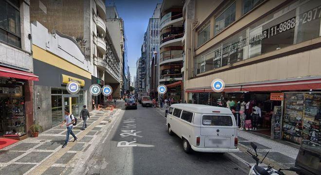PM trabalhava em operação na Rua 24 de Maio