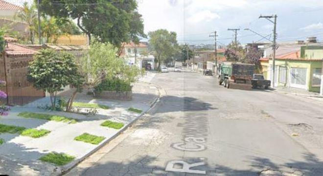 Família foi sequestrada na rua Anny, na região do Sacomã