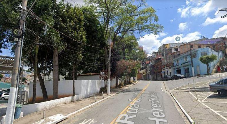 Rua Capitanias Hereditárias, na zona sul de São Paulo