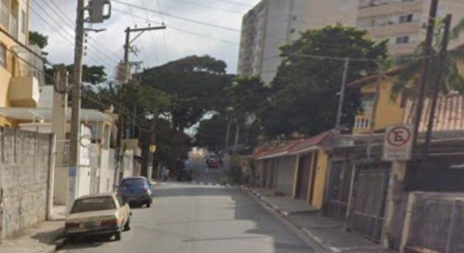 Rua Coimbra, no centro de Diadema, era alvo dos suspeitos