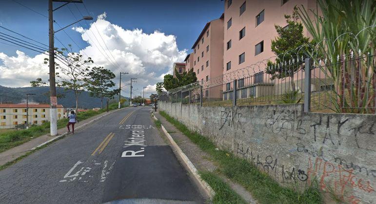 Acidente aconteceu na rua Interativa, no Jaraguá, zona norte de São Paulo