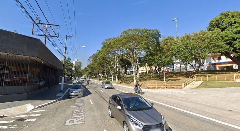 Acidente na rua Juan de La Cruz, no Jabaquara, deixou uma pessoa morta