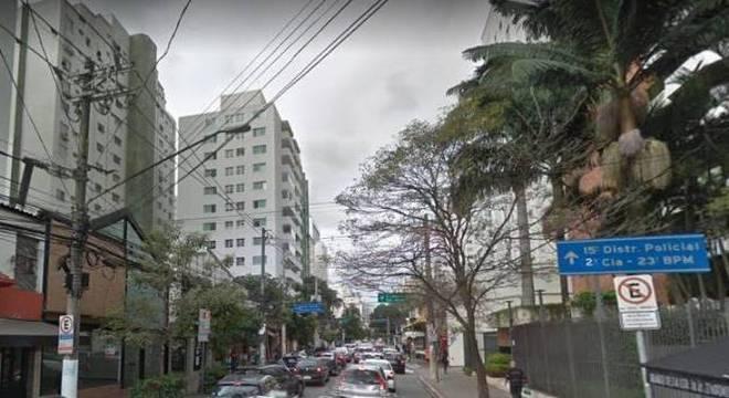 Crime ocorreu na Rua Renato Paes de Barros, perto da sede do 15º DP (Itaim Bibi)