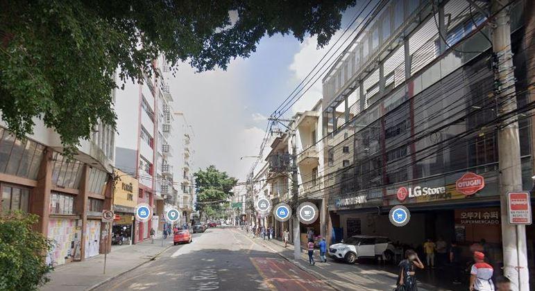Rua Três Rios, no bairro do Bom Retiro, ficou entre as 'mais legais do mundo', segundo ranking  do  Time Out