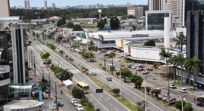 Região central de São Luís ficou mais vazia do que a periferia