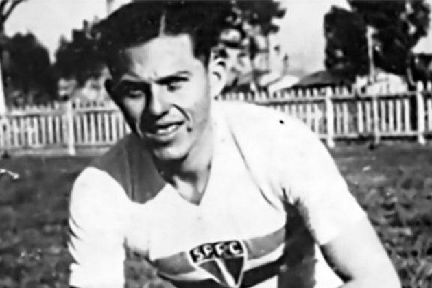 Rubén Barrios - 98 jogos: o atacante paraguaio jogou no São Paulo entre 1944 e 1947. Fez 40 gols durante esse período.