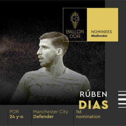 Rúben Dias (português) - zagueiro - Manchester City