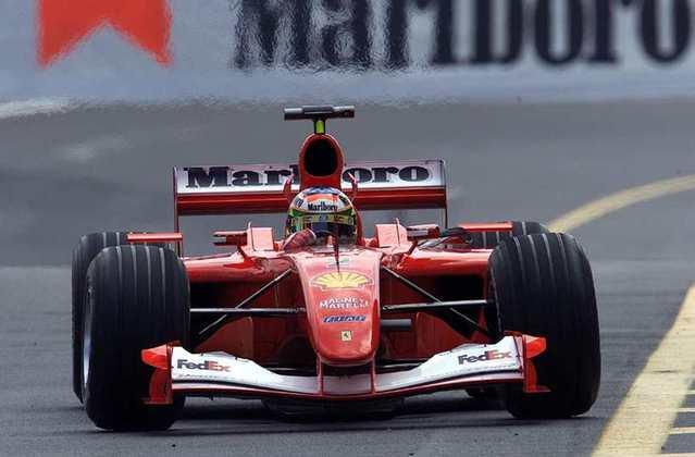 Rubens Barrichello conquistou nove vitórias pela Ferrari, além de dois vice-campeonatos. Apesar da ausência de títulos, marcou o nome entre os maiores da equipe