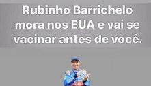 Rubens Barrichello faz piada sobre vacinação da covid-19