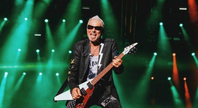 Rudolph Schenker (Scorpions) no Rock In Rio