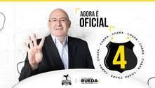 Rueda despreza Palmeiras.'Santos será tetra da Libertadores'