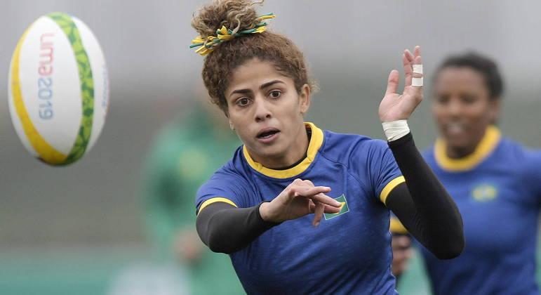 Bianca Silva precisou superar várias dificuldades para tornar-se estrela do rugby