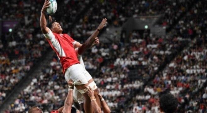 Rugby - Inglaterra x Tonga