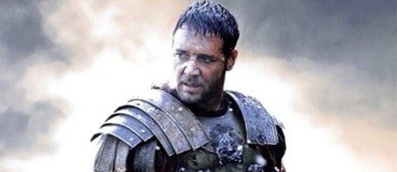 """Russell Crowe, em """"Gladiador"""", será uma das atrações do fim de ano da Band"""