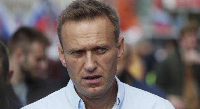 Alexei Navalny, de 44 anos, está internado em um hospital em Omsk