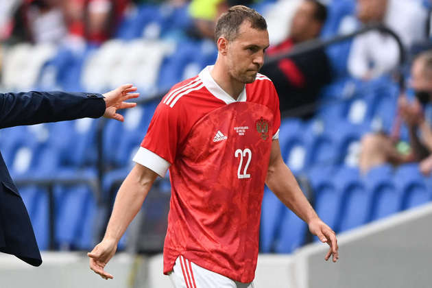 Rússia: Artem Dzyuba (Zenit). Temporada 2020/21: 44 jogos e 27 gols