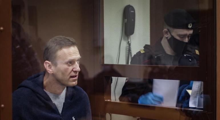 Opositor russo está em greve de fome desde 31 de março