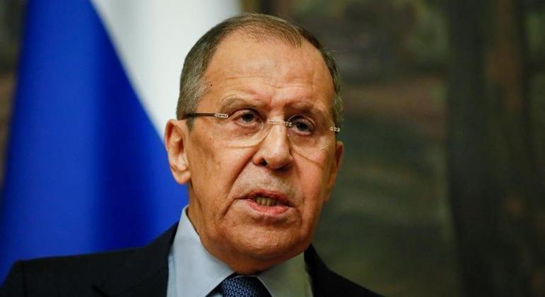 Sergei Lavrov anunciou retaliações contra os EUA por conta de sanções