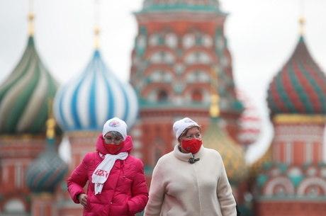 Moscou anuncia medidas de restrição contra covid-19