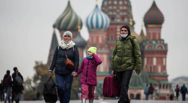 Rússia teve recorde de casos diários de covid-19
