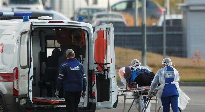Rússia registrou mais de 15 mil casos diários nas últimas 24 horas