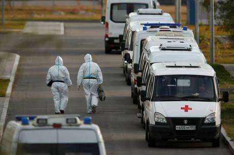 Rússia registra recorde de mortes em um dia