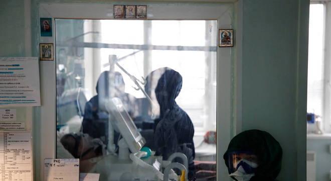 Números da pandemia continuam em crescimento na Rússia