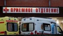 Rússia bate recorde diário de mortes com 652 óbitos por covid-19