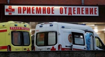 Rússia admite ter mais mortos por covid-19